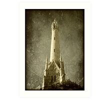 Water Tower © Art Print