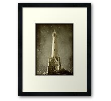 Water Tower © Framed Print