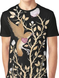 The Nightingale and The Rose Graphic T-Shirt