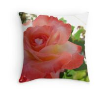 Magestic coral Throw Pillow