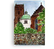 Poland,  Warsaw - Virgin Mary Church Canvas Print