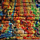 If you build your walls too high to reach, just paint them with love and color by Scott Mitchell