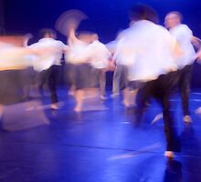 Dancers in motion  by PhotoStock-Isra