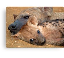 Even ugly can be cute! Canvas Print