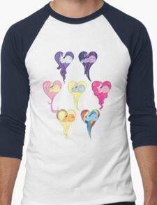 Group Heart Men's Baseball ¾ T-Shirt