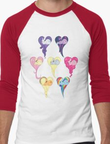 Group Heart Men's Baseball ¾ T-Shirt