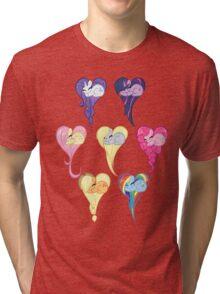 Group Heart Tri-blend T-Shirt