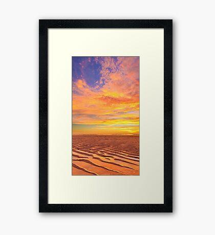 Cable Beach, Broome, Western Australia Framed Print