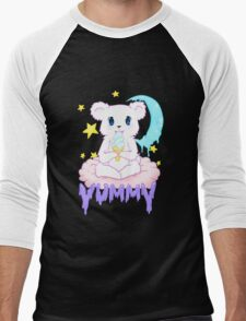 Moony Bear Men's Baseball ¾ T-Shirt
