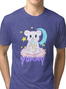Moony Bear Tri-blend T-Shirt