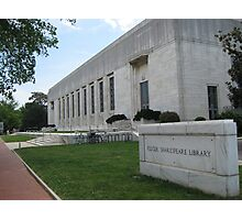 Folger Shakespeare Library Photographic Print