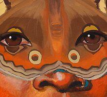 Butterfly mask by TaraWinona