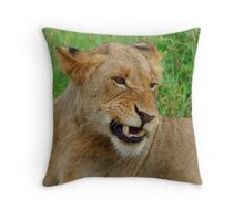 Bad Taste In My Mouth -  Kruger National Park Throw Pillow