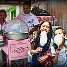Free Cotton Candy! by Maria  Gonzalez