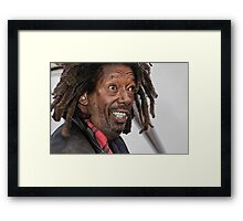 odd view mr butch Framed Print