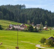 Gosau village, Salzkammergut Sticker