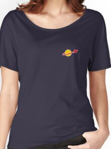 The Lego Classic Space Logo (Small Logo) Women's Relaxed Fit T-Shirt