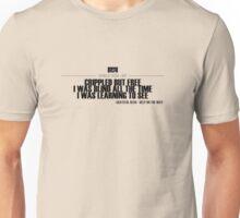 Grateful Dead Lyric - Help on the Way. Unisex T-Shirt