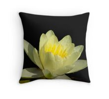 Pond Lily Lightness Throw Pillow