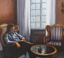 Reading Room in Brugge by ellenjb