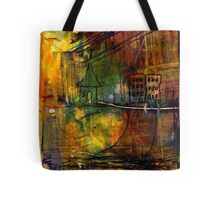 The House Jack Built in the Town Angela Imagined Tote Bag