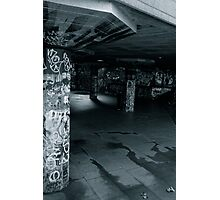 Skate Graffiti Photographic Print