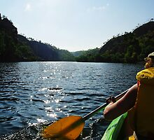 Canoe Kayak in Katherine Gorge - Nitmiluk National Park by Debellez