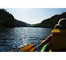 Canoe Kayak in Katherine Gorge - Nitmiluk National Park Photographic Print