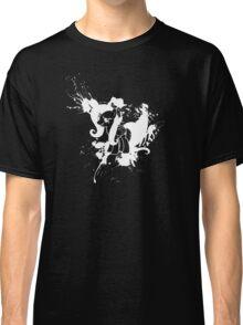 Fluttershy Ink Splatter Reverse Classic T-Shirt