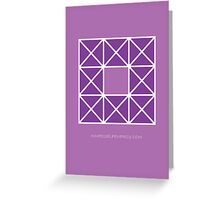 Design 42 Greeting Card