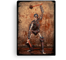 Undead Warrior Canvas Print