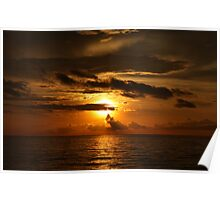 The Rich Sunset Poster