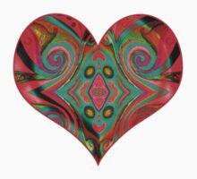 heart colours by bronwynjmrussel