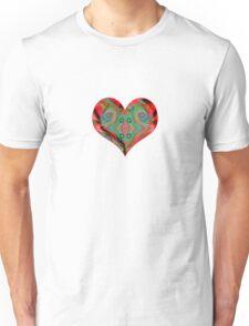 heart colours Unisex T-Shirt