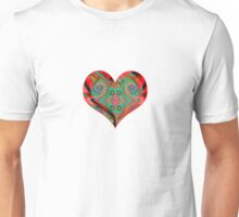 heart colours Unisex T-Shirt