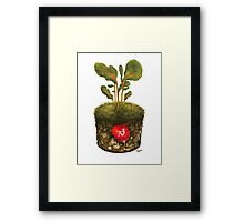 OXFAM - GROW CAMPAIGN ENTRY  Framed Print