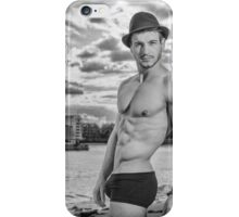 Sexy Male Model, Andrew iPhone Case/Skin