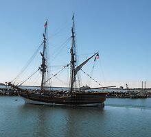 Ship of long age by Carolynn Cumor