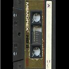 Memorex Audio Cassette Tape iPhone Case by Jnhamilt