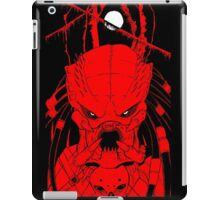 Red Pred iPad Case/Skin