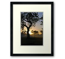 Invitation to the Day. Framed Print