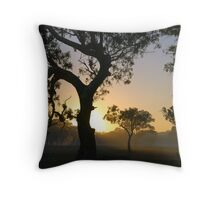 Invitation to the Day. Throw Pillow