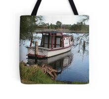 Old Tick-A-Long Tote Bag