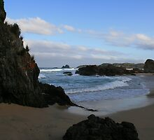 A Hidden Cove on Narooma's Surf Beach, NSW by aussiebushstick