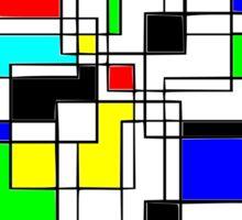 Random Squares Sticker