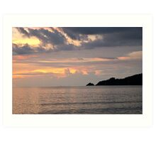 Patong Sunset Art Print