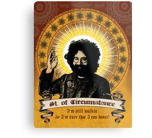 Jerry Garcia - Saint of Circumstance Metal Print