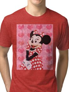 Mouse in LOVE Tri-blend T-Shirt