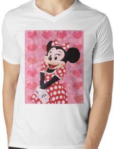 Mouse in LOVE Mens V-Neck T-Shirt