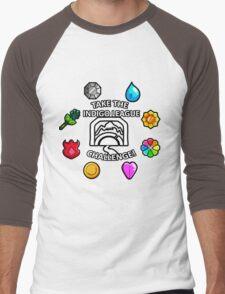 Indigo League Men's Baseball ¾ T-Shirt